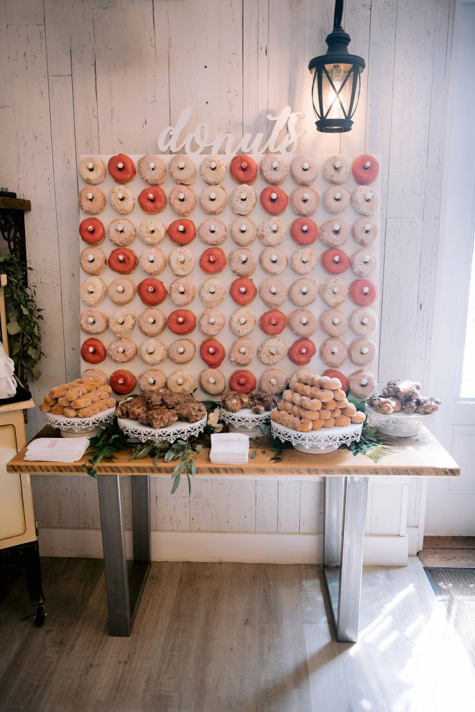 Whitewood Barn doughnut party donuts